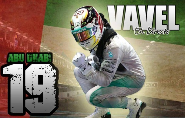 Carrera del GP de Abu Dhabi de Fórmula 1 2015, en vivo y en directo online