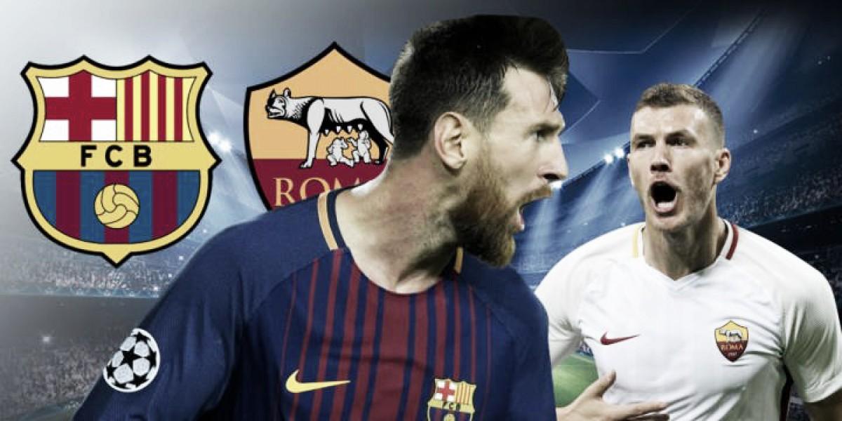 «Барселона» - «Рома»: объявлены стартовые составы