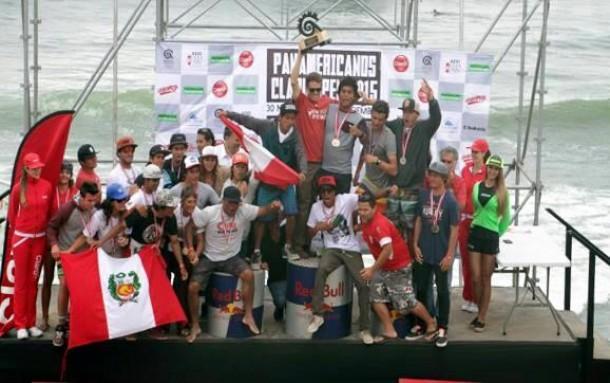 Surf: Peruanos cierran con broche de oro el 2015