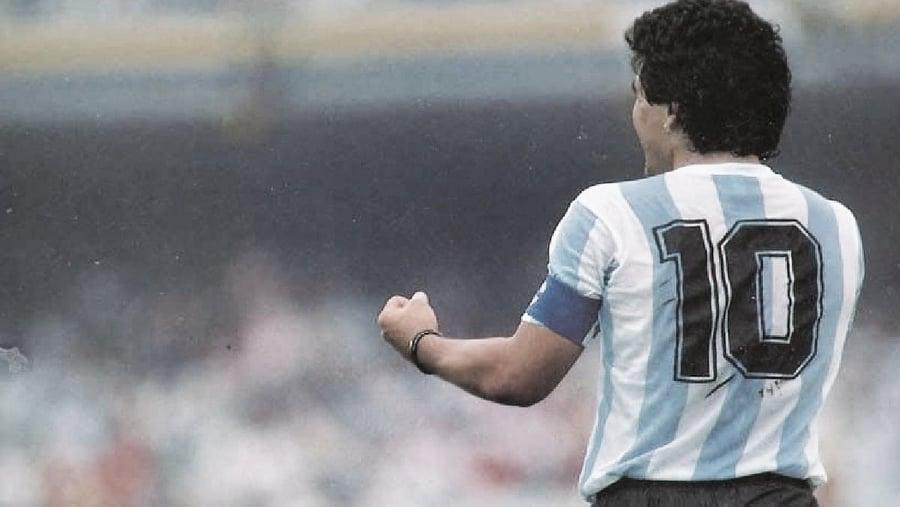 CON LA DIEZ EN LA ESPALDA. Maradona y los diez momentos más destacados en la selección.