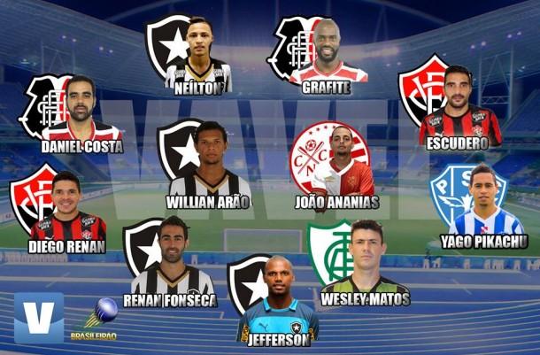 Seleção VAVEL do Brasileirão Série B 2015 tem Botafogo e Santa Cruz como grandes destaques
