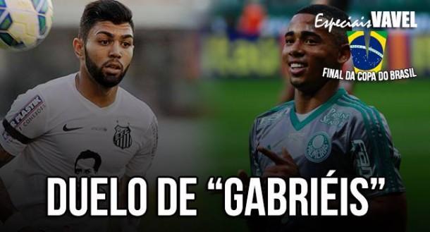 Juventude em campo: como os Gabriéis de Santos e Palmeiras chegam à final da Copa do Brasil