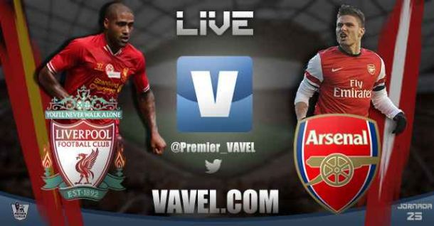 Liverpool vs Arsenal en vivo y en directo online