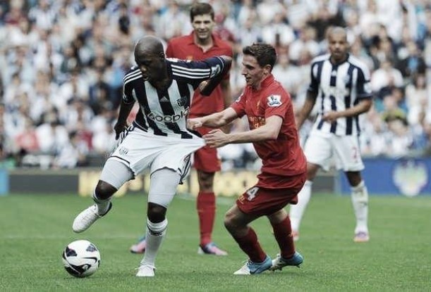 Liverpool - West Bromwich Albion: Previous meetings