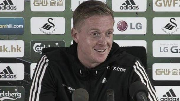 Swansea behind under pressure manager Garry Monk