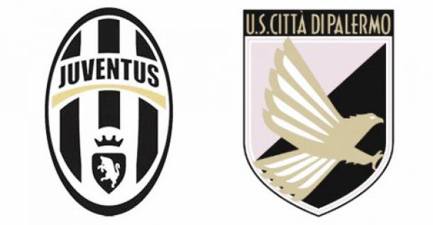 Risultato e diretta partita Juventus - Palermo in Serie A