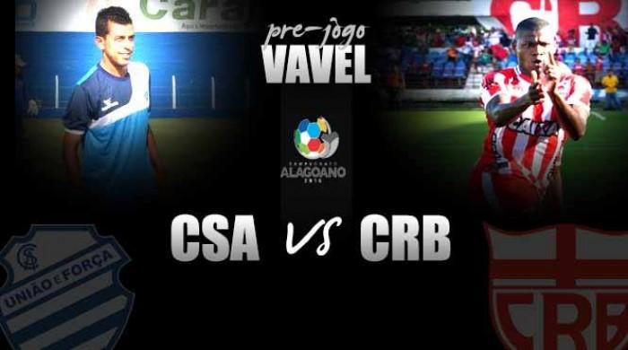 Donos das melhores campanhas, CRB e CSA iniciam briga pelo título do Campeonato Alagoano