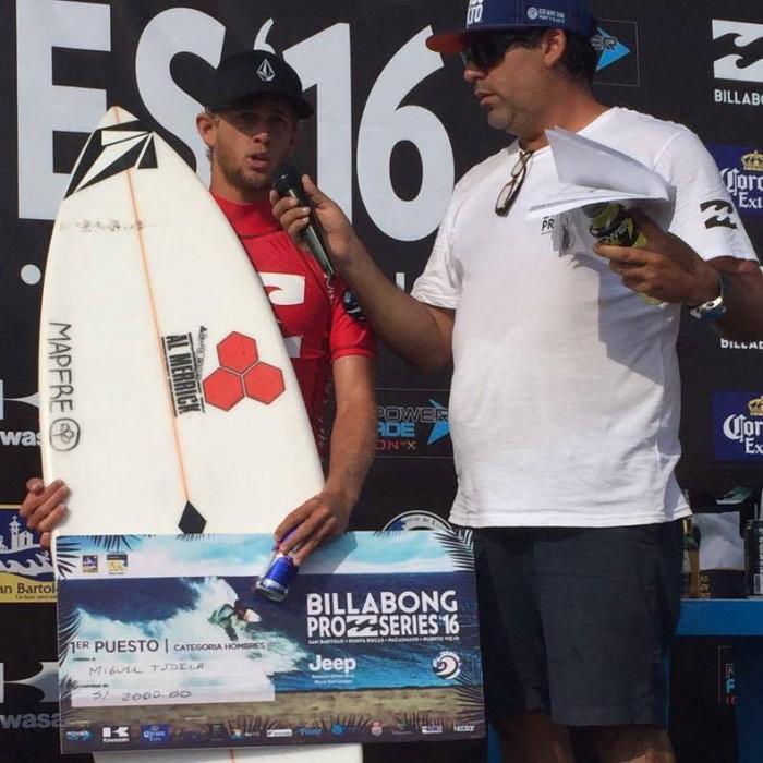 Surf: Miguel Tudela campeón en San Bartolo