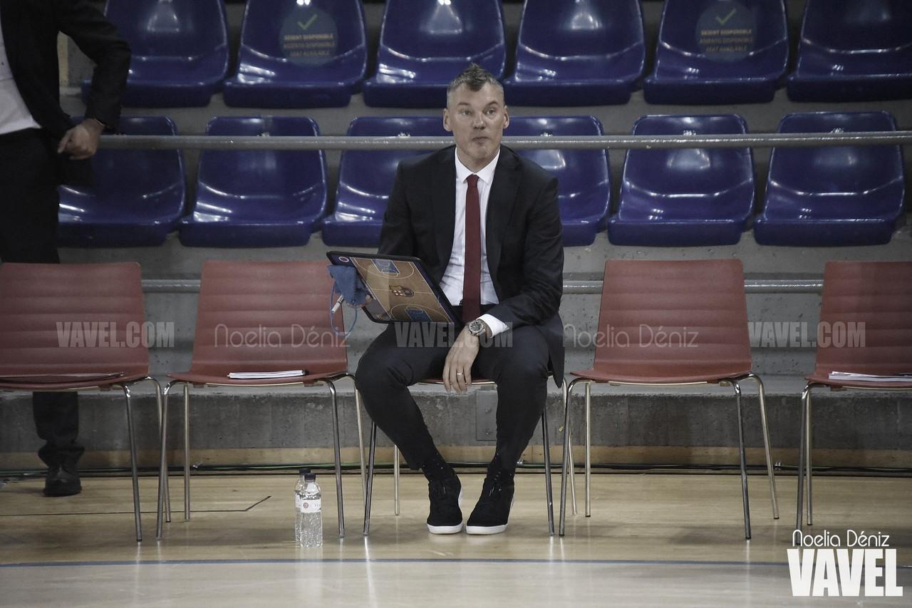 """Jasikevicius: """"Ha sido un partido de playoff"""""""