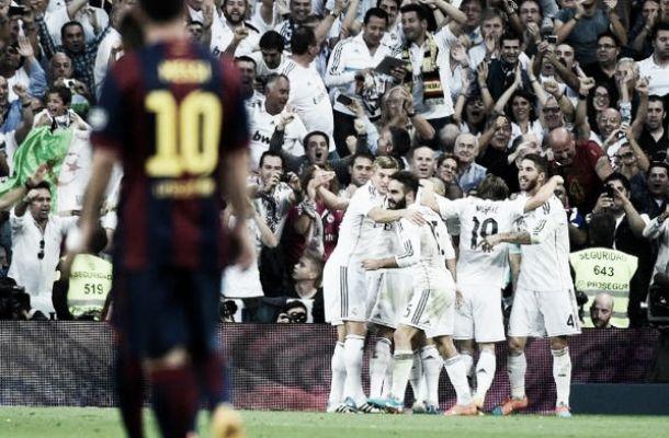 Il Clasico si tinge di bianco: Barcellona sconfitto 3-1, festa Real Madrid