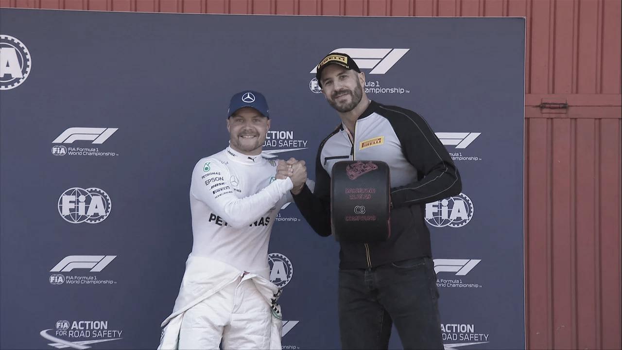 Bottas, Hamilton e Vettel: o que cada um disse após a pole do finlandês da Mercedes