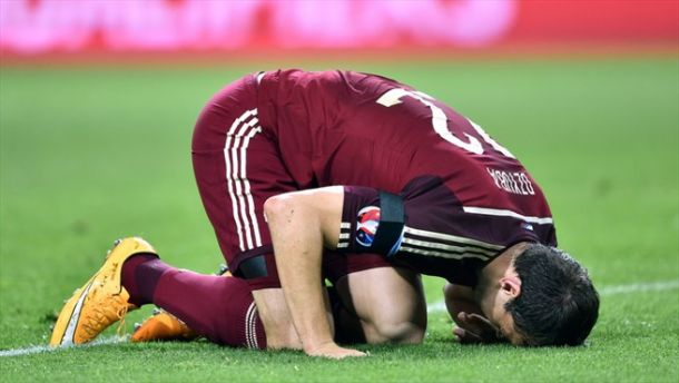 """روسيا تسقط في كمين التعادل أمام مولدوفا ضمن تصفيات """"يورو 2016"""""""
