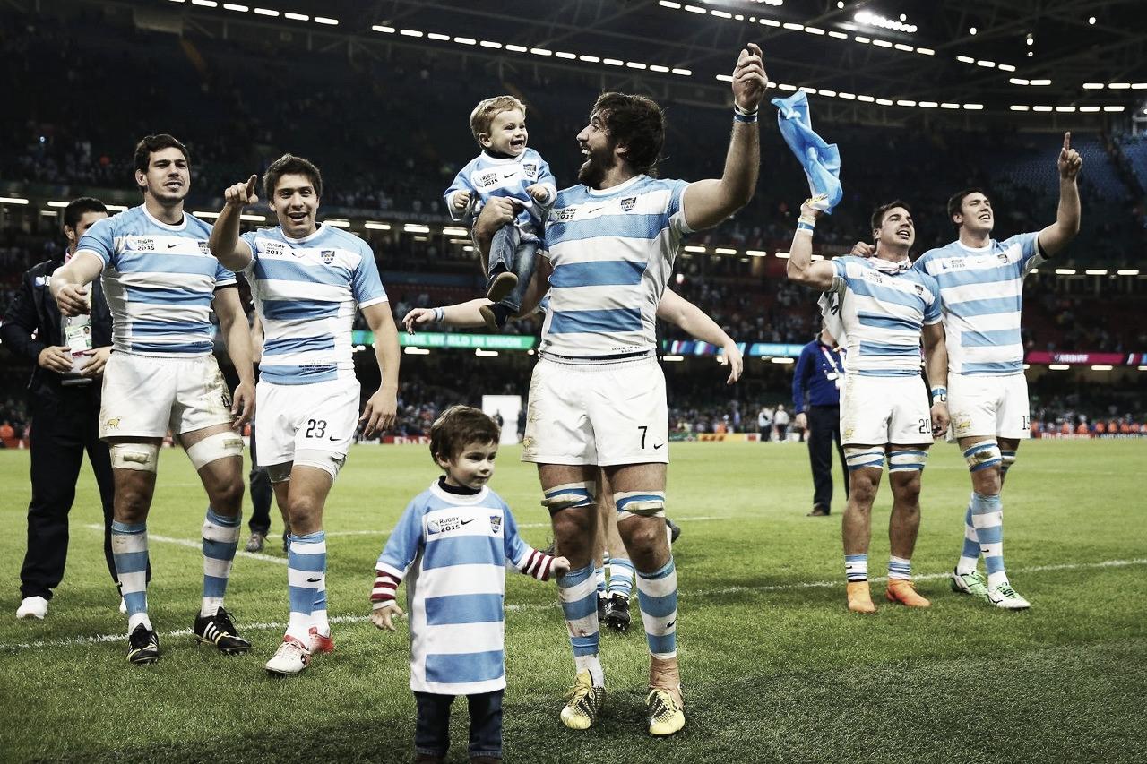 Festejo del plantel - Foto: World Rugby