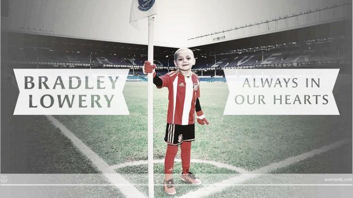 Everton organiza jogo em homenagem a Bradley Lowery, vítima de câncer