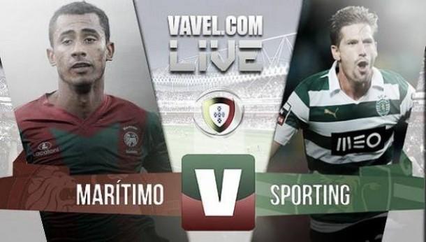 Resultado Marítimo x Sporting na Liga NOS 2015 (0-1)