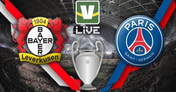 Bayer Leverkusen x Paris Saint-Germain, Uefa Champions Leagu