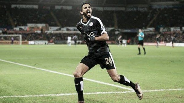 Swansea City 0-3 Leicester City: Mahrez hat-trick sinks hosts
