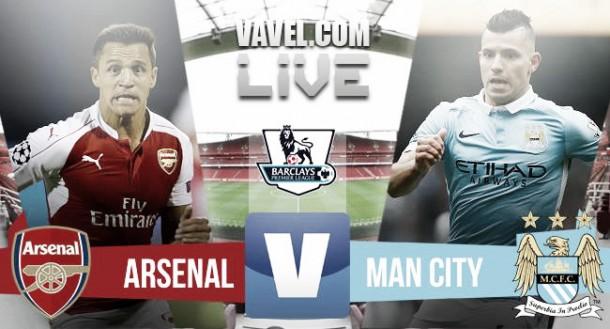 Live Arsenal - Manchester City (2-1) in Premier League 2015/16