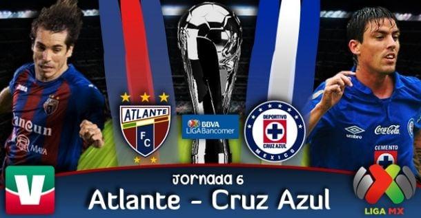 Resultado Atlante - Cruz Azul en Liga MX (1-4)