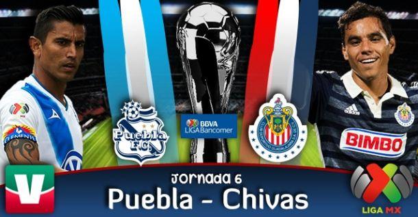 Puebla vs Chivas en vivo online