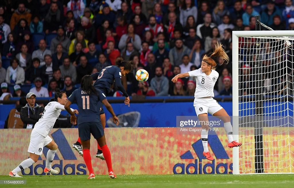 Women's World Cup: France 4-0 South Korea