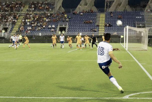 Derrota por la mínima del Real Zaragoza ante el Cagliari