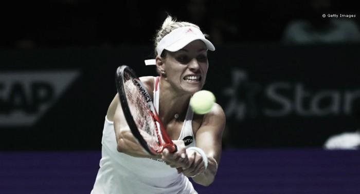 Angelique Kerber atropela Radwanska e avança para a decisão do WTA Finals