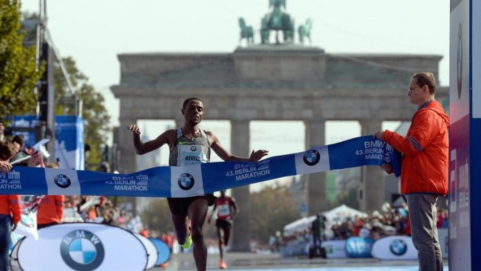Bekele è il re di Berlino