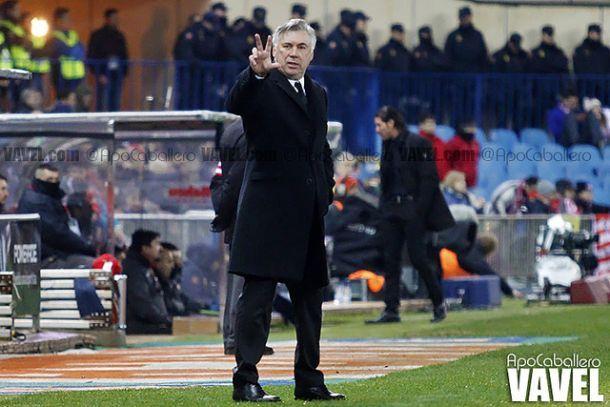 Ancelotti se lleva 19 jugadores a Granada