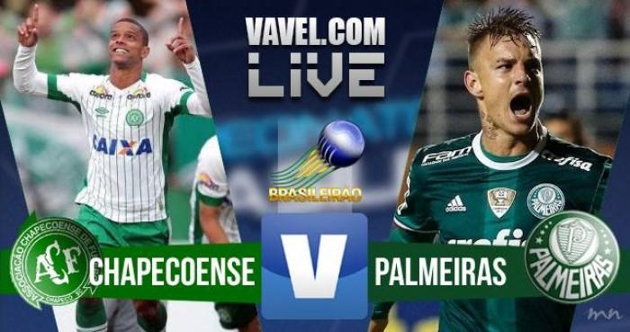 Resultado Chapecoense 1x1 Palmeiras pelo Campeonato Brasileiro