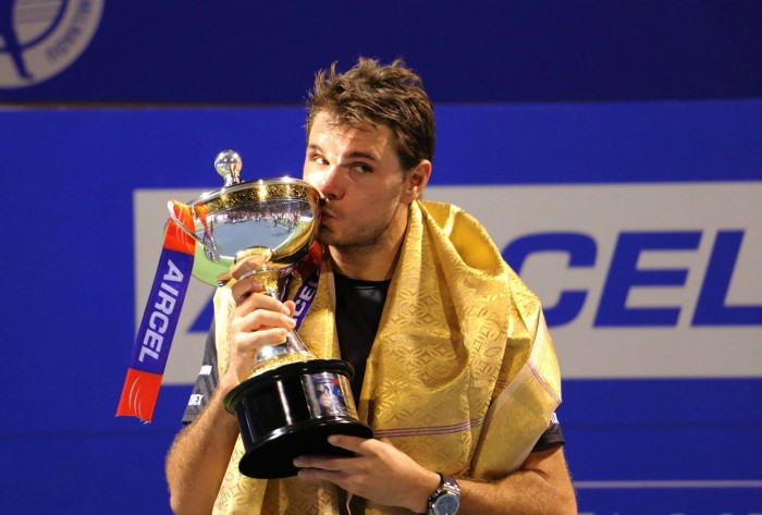ATP Chennai: Stan Wawrinka Earns Third-Straight Title In Chennai With Victory Over Borna Coric
