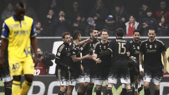 Juve inarrestabile, poker al Chievo: Morata, Alex Sandro e Pogba lanciano la Signora in vetta (0-4)