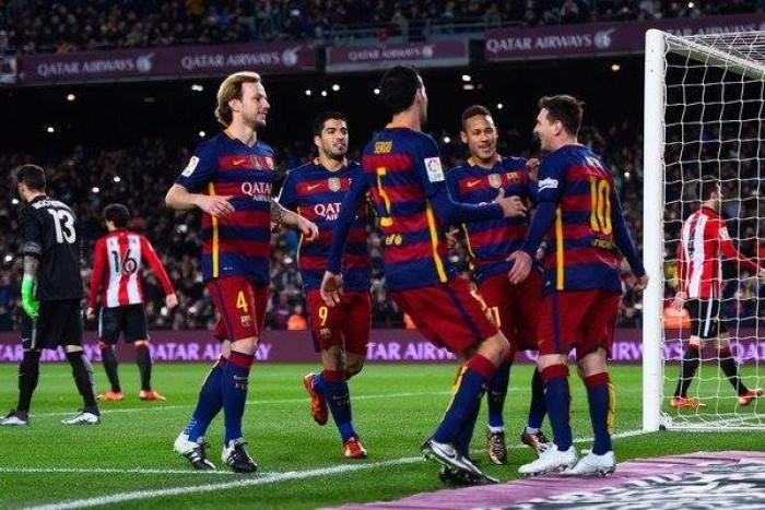 Il Barcellona demolisce l'Athletic Bilbao: 6-0
