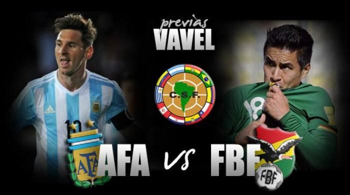 Previa Argentina - Bolivia: por la consolidación