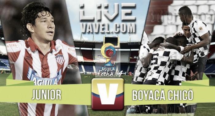 Resultado Atlético Junior 1-1 Boyacá Chicó en la Liga Águila 2016