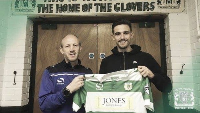 Liam Shephard returns to Yeovil on loan