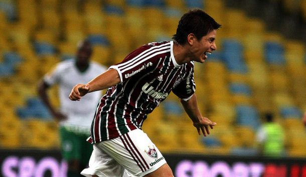 Conca é o gringo que mais vezes vestiu a camisa do Fluminense