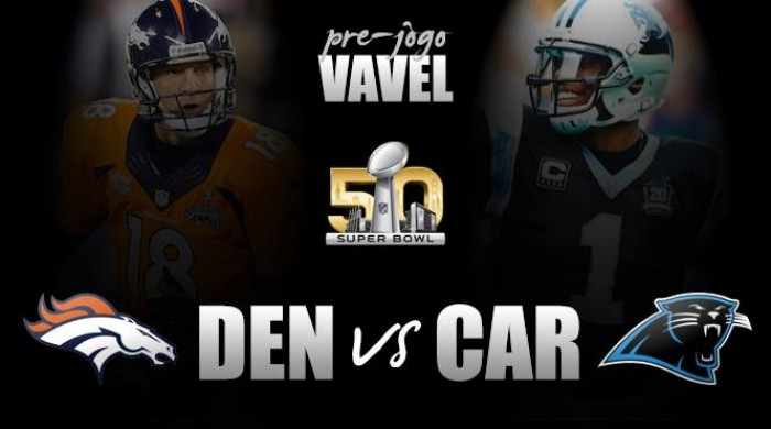 Pré-Jogo: Broncos e Panthers duelam pelo Super Bowl 50 na possível despedida de Peyton Manning