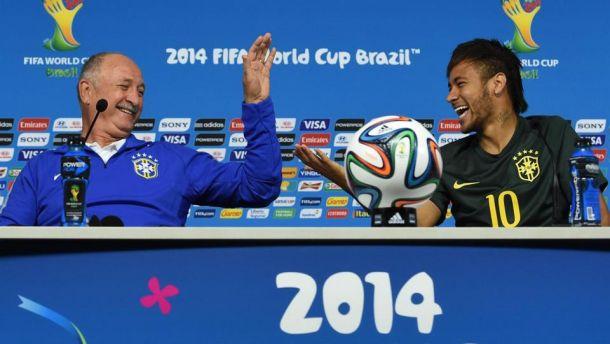 """Neymar e Scolari: """"È arrivato il momento di tutto il Brasile"""""""