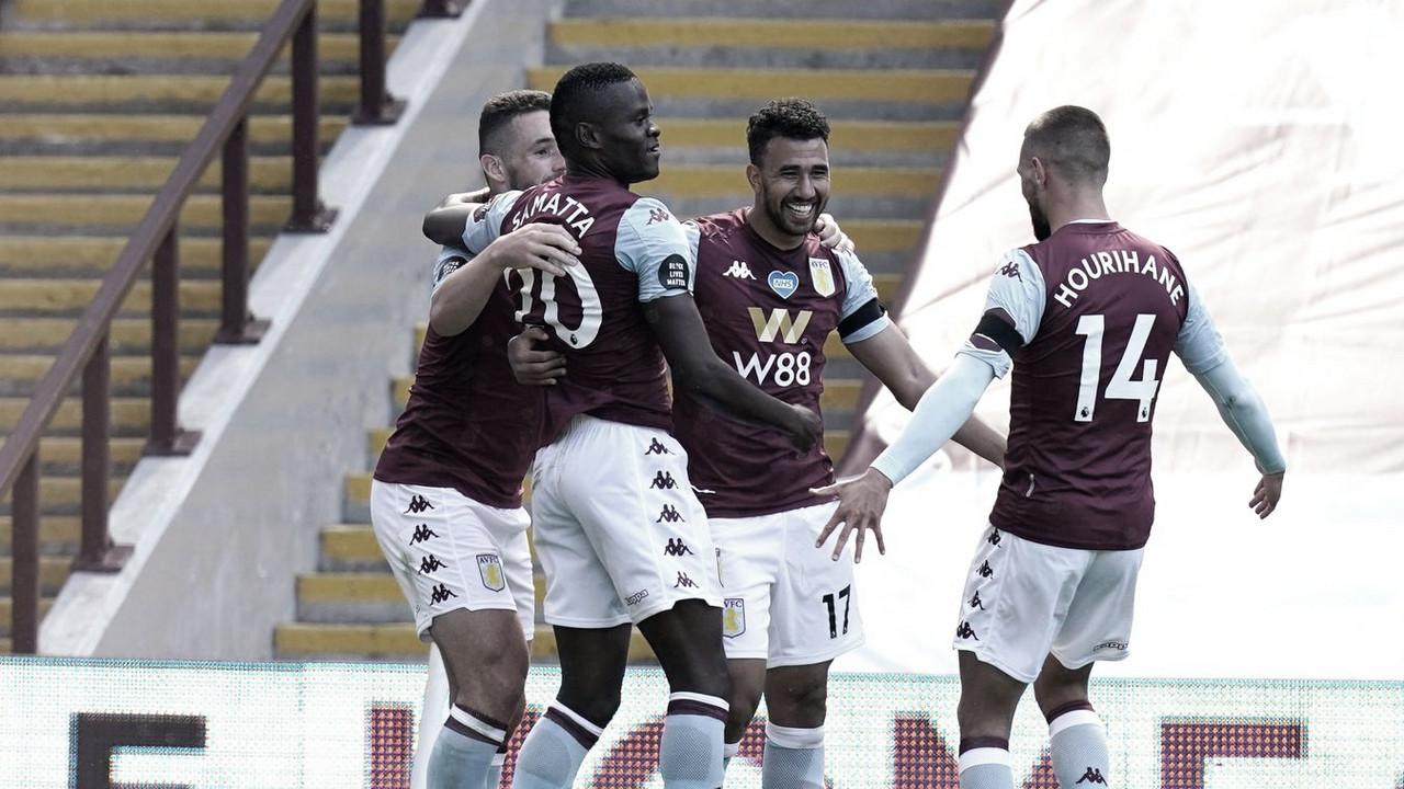 Trézéguet faz dois, Aston Villa bate Crystal Palace e continua na briga contra rebaixamento