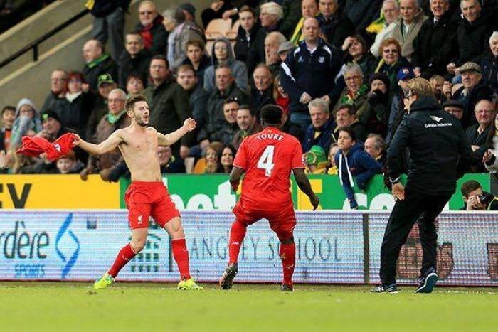 Liverpool col cuore, Norwich super ma perde 4-5