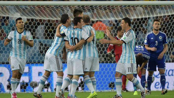 L'Argentine s'impose sans briller
