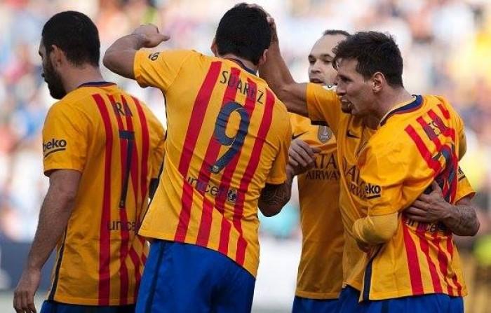 Liga, il Barcellona espugna Malaga: 1-2