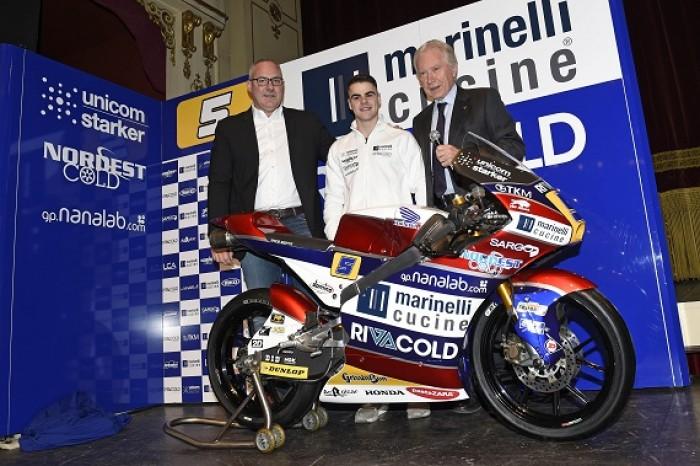 Moto3: Fenati unveiled as new Marinelli Rivacold Snipers rider along side Danilo