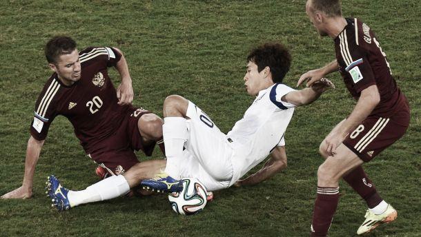 La Russie et la Corée du Sud se neutralisent au terme d'un match terne
