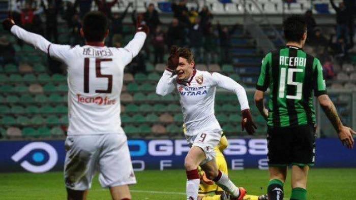 Sassuolo - Torino 1-1: a Belotti risponde Acerbi