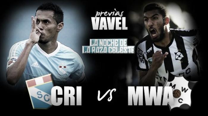 Sporting Cristal - Montevideo Wanderers: la noche de la raza celeste con tématica legendaria