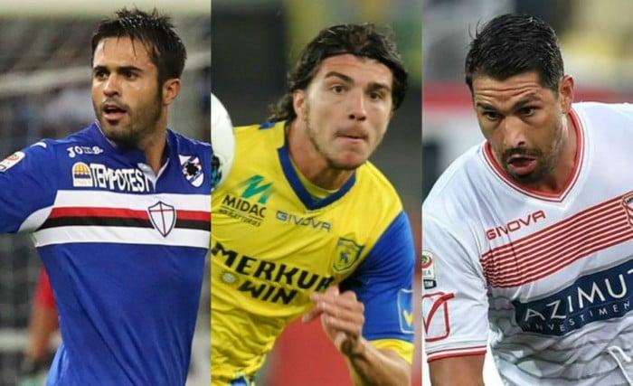 Il domino degli attaccanti: Eder, Paloschi e Borriello