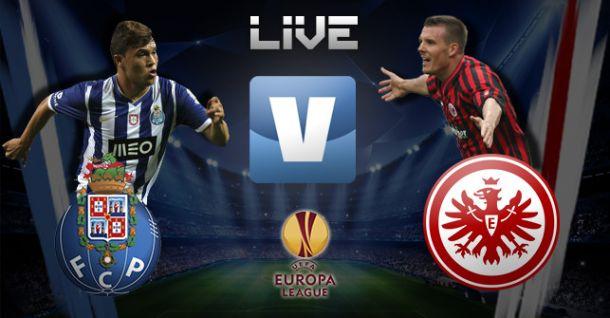 FC Porto x Eintracht Frankfurt, directo online e ao vivo