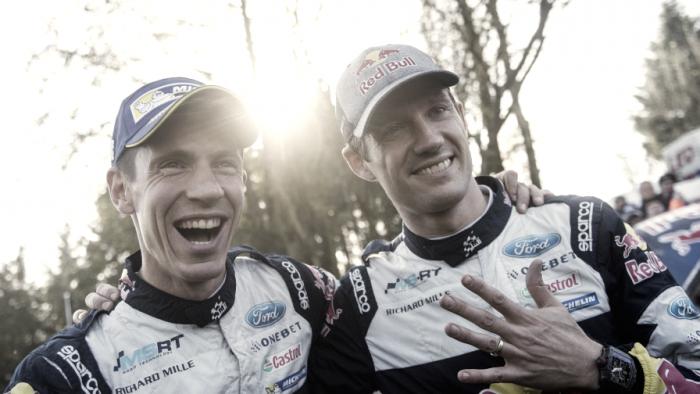 El francés Oiger seguirá en M-Sport una temporada más
